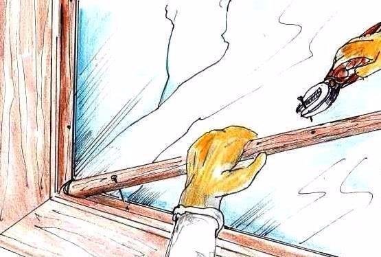 Come sostituire un vetro rotto