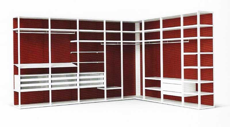 Realizzare una cabina armadio for Piani di cabina 32x32