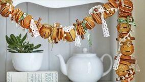 Come realizzare originali decorazioni con le arance essiccate
