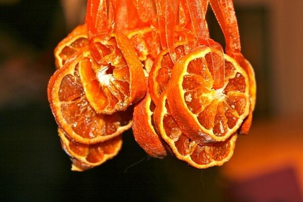 Decorazione con arance