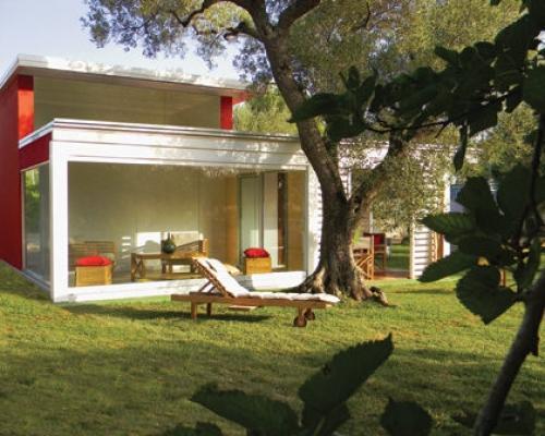Micro casa modello Egeo di Sprech