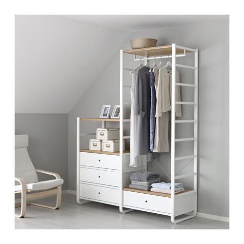 Guardaroba componibile, Elvarli di Ikea