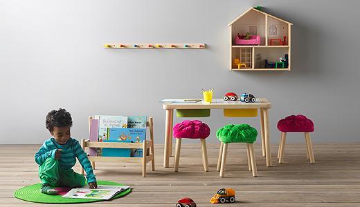 Mobili per la cameretta in mansarda - Ikea
