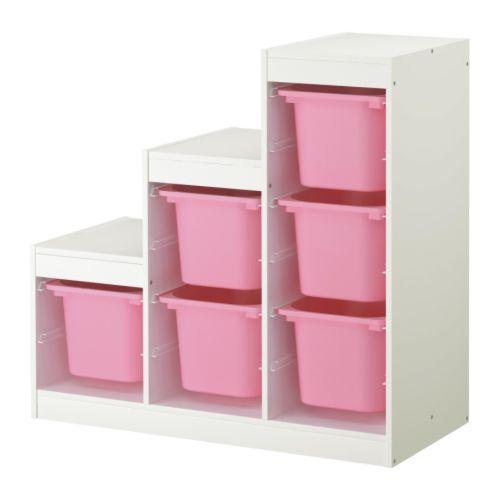 Mobili contenitori per camerette in mansarda -Ikea