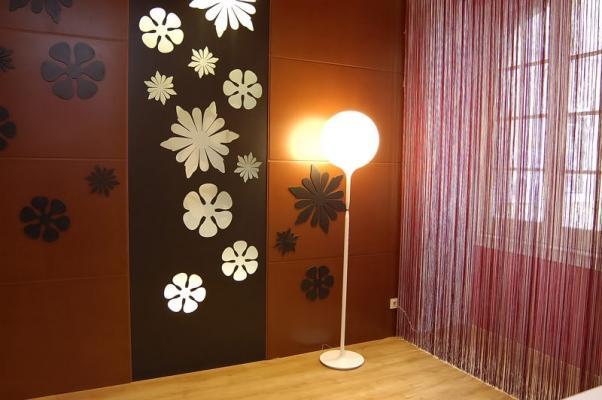 Rivestimento parete in MDF con pannelli Valchromat