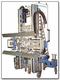 Apparecchiatura robotizzata per stesura intonaco di Edilrobotica AZ Italia
