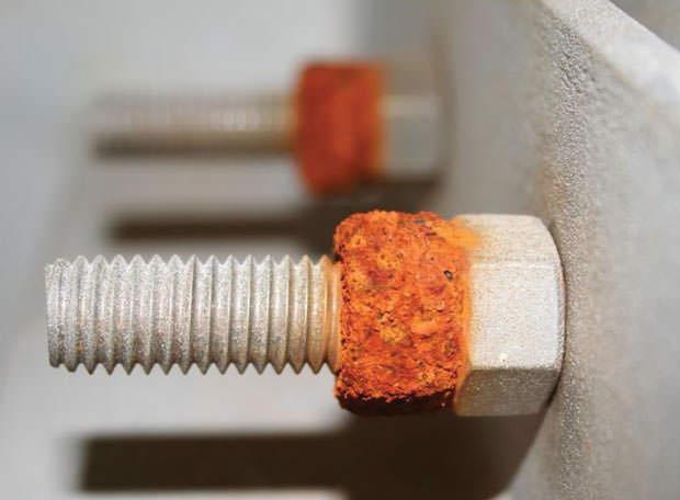 Corrosione generata dalle correnti galvaniche