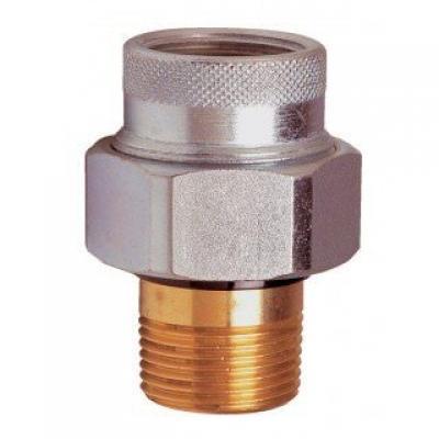 Raccordo dielettrico di protezione dalle correnti galvaniche per scaldacqua