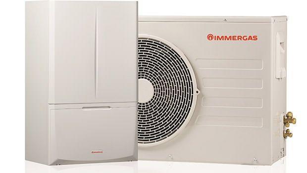 Nuovo sistema ibrido con pompa di calore e condensazione