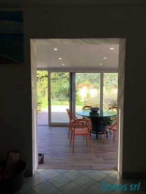 Open space cucina e sala da pranzo