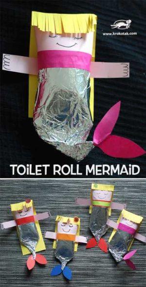 Sirenette di carta igienica progetto di Krokotak.com