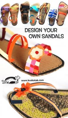 Sandali di cartone di krokotak.com