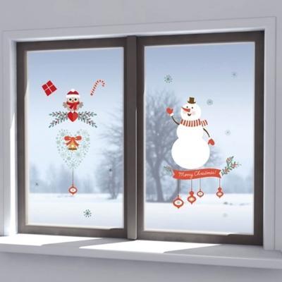 Vetrofanie per finestre tema natalizio di Dekoidea.com