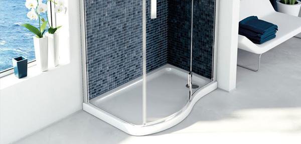 Posizionare il box doccia - Box doccia misure standard ...