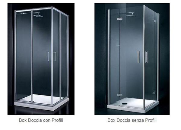 Tipologie di box doccia, by Iperceramica