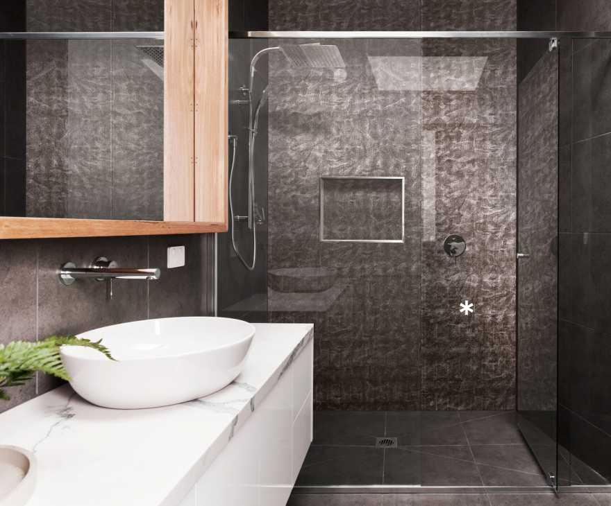 Pannelli Bath Art ba-leguan-nero