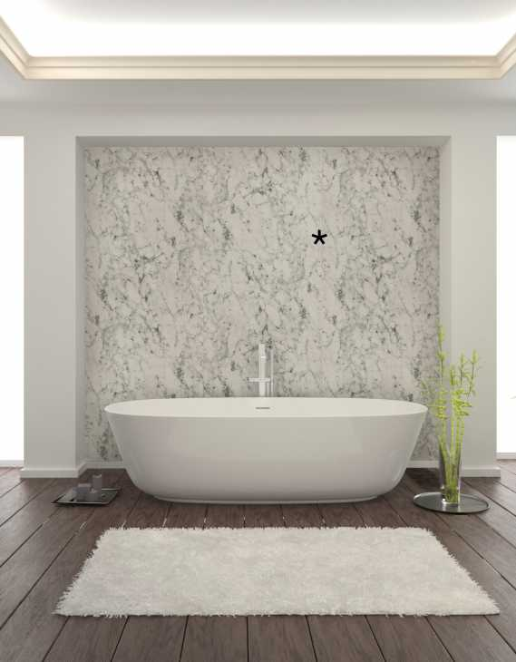 Pannelli decorativi per interni  Sibu design antigrav dm marble white
