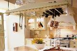 Cucina componibile stile country