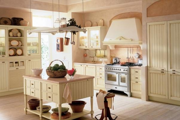 Aida è la cucina componibile panna di Febal