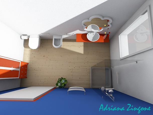 Mini bagno progetto idee decorazioni for Doccia bagno piccolo