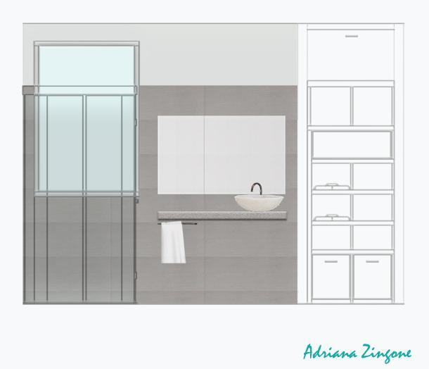 Mini bagno: progetto, idee, decorazioni