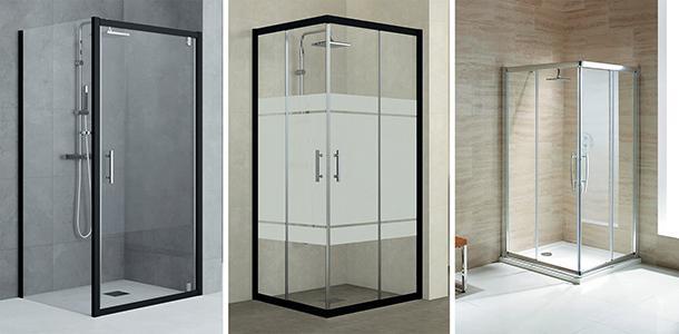 Mini bagno progetto idee decorazioni - Box doccia tre lati leroy merlin ...
