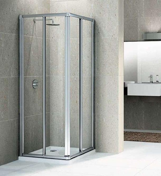 doccia classica in vetro Novellini