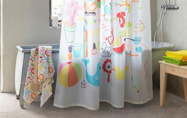 Mini bagno progetto idee decorazioni - Tenda doccia per vasca ...