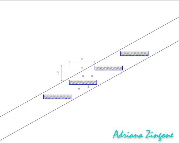 Dettaglio progettazione scala