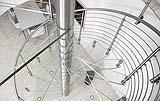 Scala in vetro by Siller