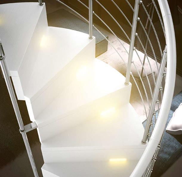 Progettare una scala interna for Sala di piani quadrati a chiocciola