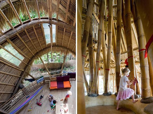 Strutture in bambù