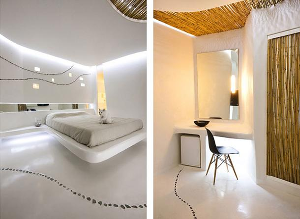 Bambù su pareti