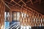 Kengo kuma architettura in bamboo