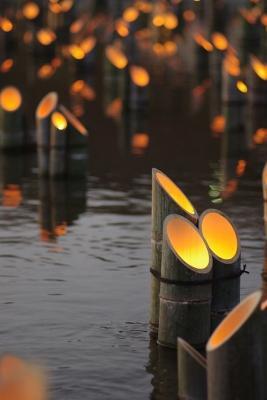 Lampade in bamboo