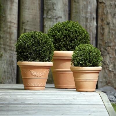 Vaso in terracotta da giardino Nicoli by Bestprato