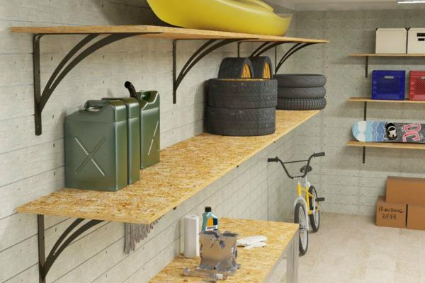 Sistemazione del garage for Un aggiunta di un box auto