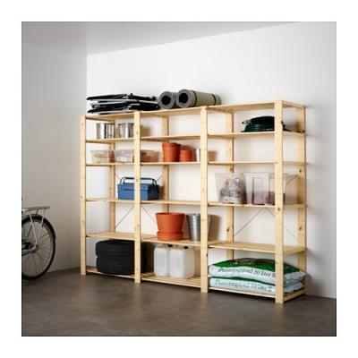 Scaffali In Plastica Ikea.Sistemazione Del Garage