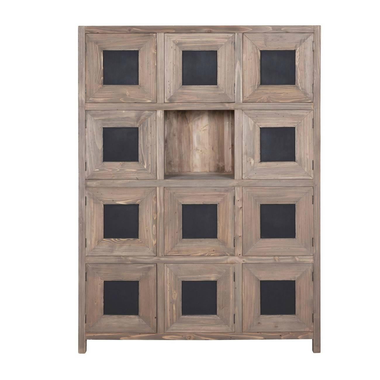Cabinet vintage a 11 ante di Casamata