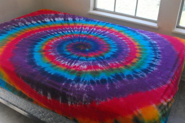 Lenzuolo tie dye di Inspringcolor