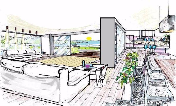 Orientamento cardinale del soggiorno di casa - Esposizione solare casa ...