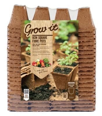 Vasi senza torba biodegradabili