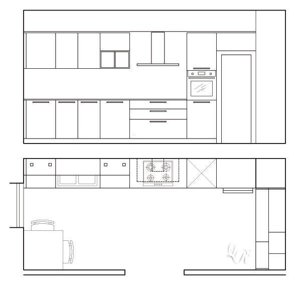 Progettare la cucina consigli pratici - Progettare una cucina in muratura ...