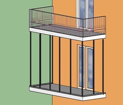 Opere di collegamento verticale per il consolidamento