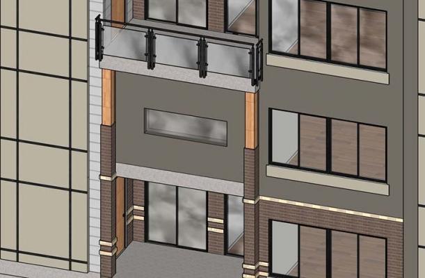 Consolidamento volumi chiusi: balconi su solaio