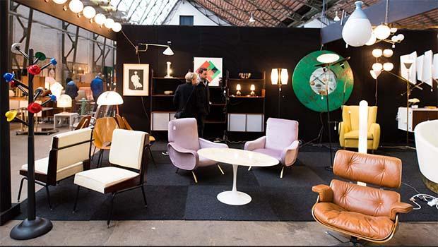 Arredi e complementi vintage per il mese del design a Brussels