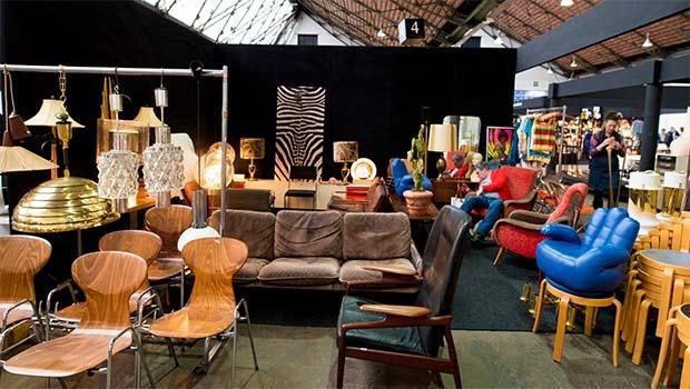 Pezzi vintage al Design Market di Brussel