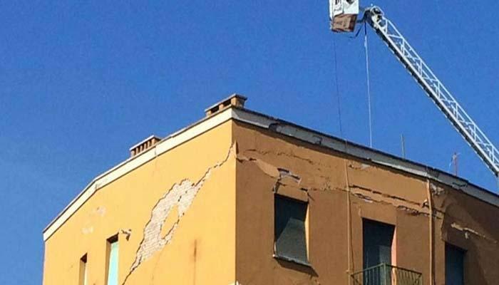 Sicurezza degli edifici: danni provocati da smottamenti