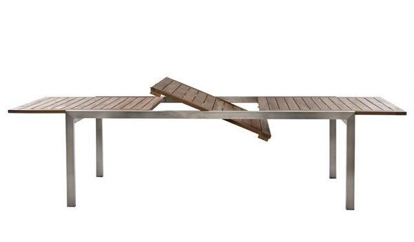 Tavolo da giardino allungabile Dandy di Il Giardino di Legno