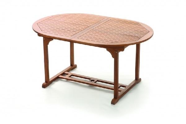 Tavolo da giardino allungabile in acacia di Pratiko